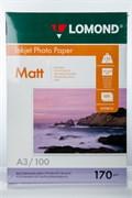 Бумага А3/170/100 Lomond матовая двуст.