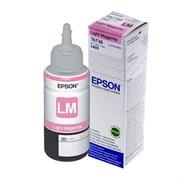 Контейнер EPSON с светло-пурпурными чернилами L800 T6736